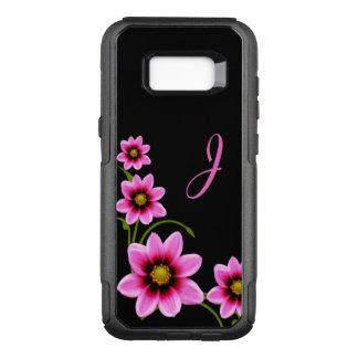 Monogrammed Otterbox Samsung S8 för blommor fodral