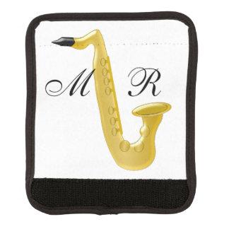Monogrammed saxofon handtagsskydd