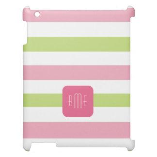 Monogramrandmönster iPad Mobil Fodral