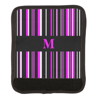 Monogramsvart, rosa, vitBarcoderand Handtagsskydd