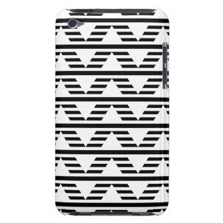 Monokrom geometrisk design. Pern. iPod Touch Case-Mate Case