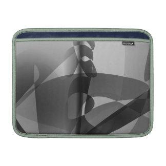 Monokrom liljakonst MacBook air sleeve