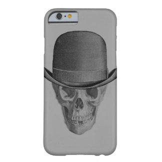 Monokrom skalleDerby hatt Barely There iPhone 6 Skal