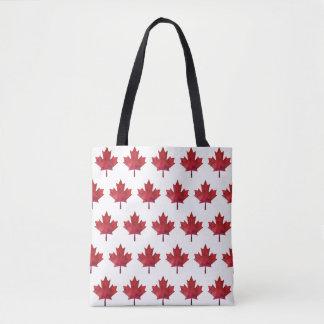 Mönster 2018 för Kanada daglönnlöv Tygkasse
