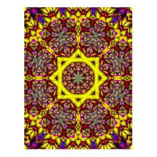 mönster för abstrakt 3d vykort