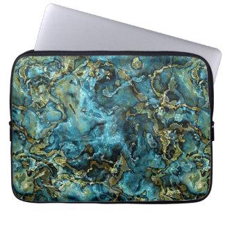 Mönster för Agate för mineraler för Laptop Sleeve