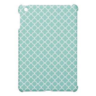 Mönster för AquaQuatrefoil klöver iPad Mini Fodral