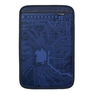 Mönster för blåttGeekmoderkort MacBook Air Sleeve