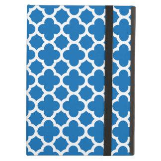 Mönster för blåttQuatrefoil spaljé iPad Air Skal