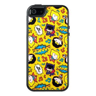 Mönster för Chibi hjältinnadans OtterBox iPhone 5/5s/SE Skal