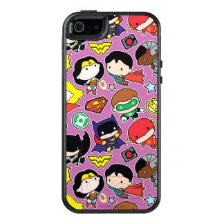 Mönster för Chibi rättvisaliga på lilor OtterBox iPhone 5/5s/SE Skal