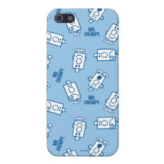 Mönster för dugg för Herr Grumpy | iPhone 5 Skydd