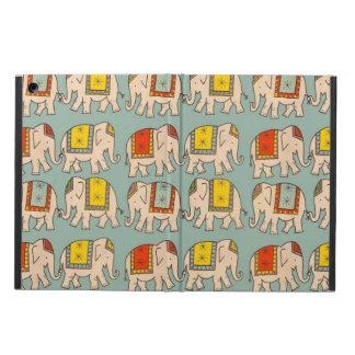 Mönster för elefant för lycka tillcirkuselefanter  fodral för iPad air