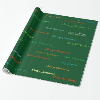mönster för färggod julsjal presentpapper