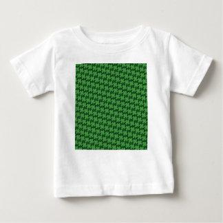 Mönster för fyra löv t-shirt