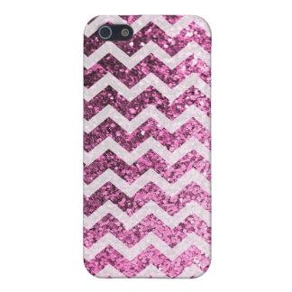 Mönster för glitterBling Sparkly sparre (rosor) iPhone 5 Cases