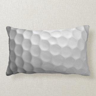 Mönster för golfbollskrattgropstruktur lumbarkudde