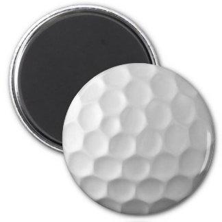Mönster för golfbollskrattgropstruktur magnet