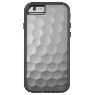 Mönster för golfbollskrattgropstruktur tough xtreme iPhone 6 skal
