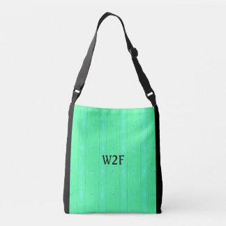 """Mönster för grönt för coola""""W2F-neon Seamless Axelväska"""