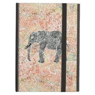 Mönster för Henna för stam- Paisley elefant Fodral För iPad Air