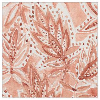 Mönster för HENNAVANABoho botaniskt vattenfärg Tyg