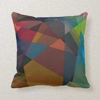 Mönster för konst   för Cubism abstrakt modernt Kudde
