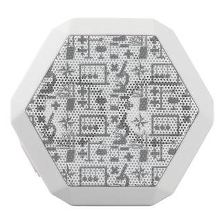 Mönster för Math för geografi för Vit Bluetooth Högtalare