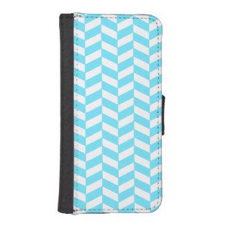 Mönster för mod för sommar för blått för iPhone SE/5/5s plånbok