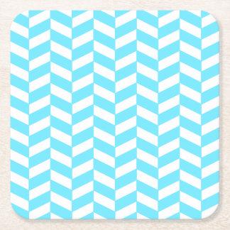 Mönster för mod för sommar för blått för underlägg papper kvadrat