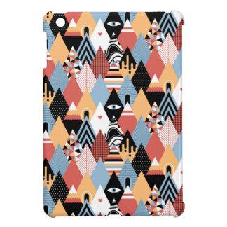 Mönster för modern mystic triangel för Hipster iPad Mini Skal