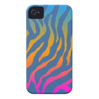 Mönster för randar för tiger för Corey tiger80-tal Case-Mate iPhone 4 Skydd