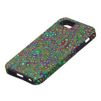 Mönster för regnbågereptilfjäll - fodral för iPhon iPhone 5 Skal