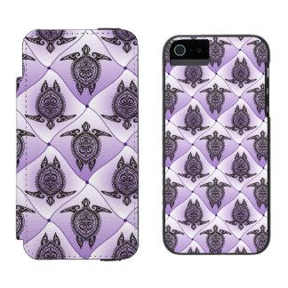 Mönster för Shamanic havssköldpaddor - violet