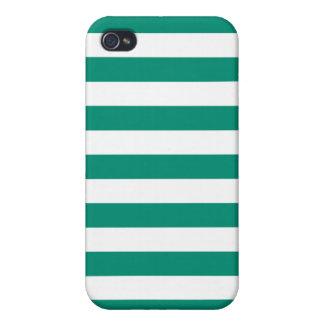 Mönster för smaragdgröntrandar iPhone 4 cover