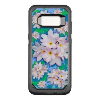 Mönster för sommar för Plumeriabukett exotiskt OtterBox Commuter Samsung Galaxy S8 Skal