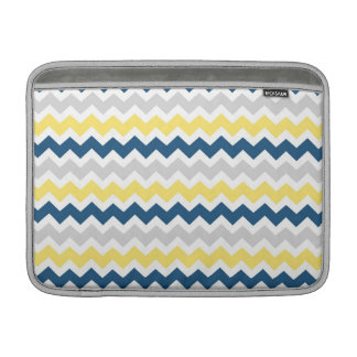 Mönster för sparrar för grå färg för Macbook citro MacBook Air Sleeve