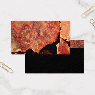 mönster för sten för naturvisitkortmall visitkort