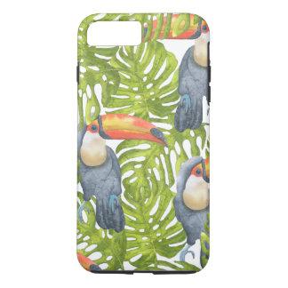 Mönster för träd för Toucan djungelfågel