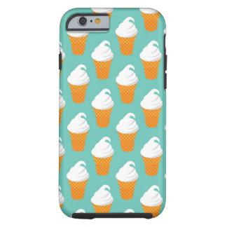 Mönster för vaniljglasskotte tough iPhone 6 case