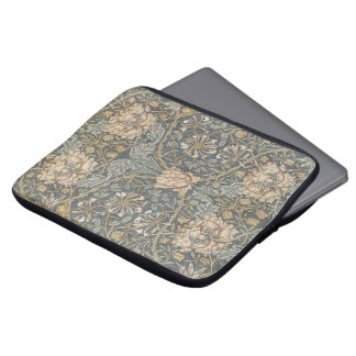 Mönster för VictorianWilliam Morris blom- textil Laptop Fodral