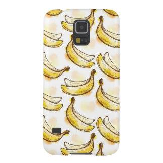 Mönster med bananen galaxy s5 fodral