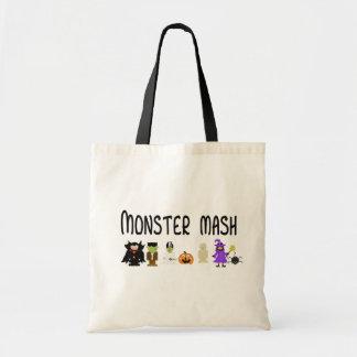 Monster mosar Halloween hänger lös Tygkasse