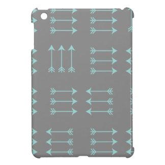 Mönsterfodral för 3 pil iPad mini mobil skal