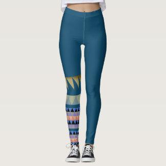 Mönstrad damasker leggings