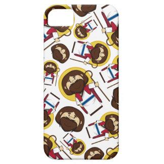 Mönstrad iphone case för Jesus Kristus iPhone 5 Cases
