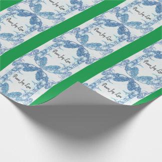 Mönstrad Mandala för duva för fredglädjekärlek Presentpapper