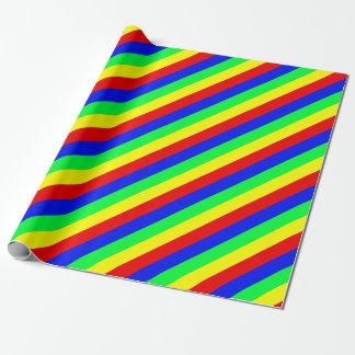 Mönstrad regnbåge presentpapper