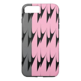 Mönstrar rosa grå färg för modern sparre iPhone 7