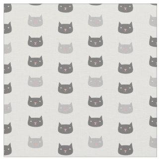 Mönstrat tyg för Kawaii katter